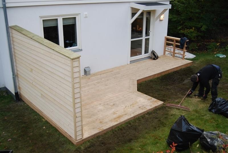 regler bygge veranda