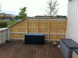 Hvordan bygge levegg på terrasse